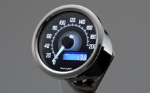 """VELONA"" ELECTRICAL SPEEDOMETER 200KM/H(MPH), WHITE LED"