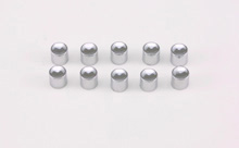 LONG BUTTON CAP 72-81, CHROME