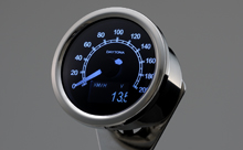 """VELONA"" ELECTRICAL SPEEDOMETER 200KM/H(MPH), WHITE LED, OLED DISPLAY"