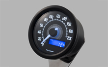 """DARK VELONA"" ELECTRICAL SPEEDOMETER 200KM/H(MPH), WHITE LED"
