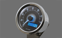 """VELONA"" ELECTRICAL SPEEDOMETER 140KM/H(MPH), WHITE LED"