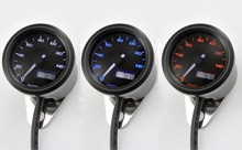 """VELONA48"" ELECTRICAL SPEEDOMETER 140KM/H(MPH), 3 COLOR LED"