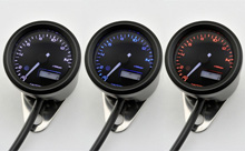 """VELONA48"" ELECTRICAL TACHOMETER 15,000RPM, 3 COLOR LED"