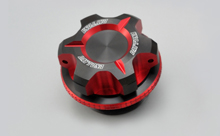 DUAL ANODIZED OIL FILLER CAP, RED