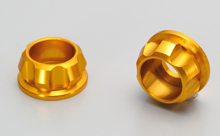 CNC CAP BOLT COLLAR, GOLD