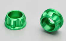 CNC CAP BOLT COLLAR, GREEN
