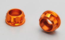CNC CAP BOLT COLLAR, ORANGE
