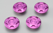 CNC CAP BOLT CAP, PURPLE